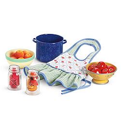 American Girl Kit apron