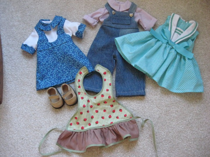 homemade American Girl doll clothes