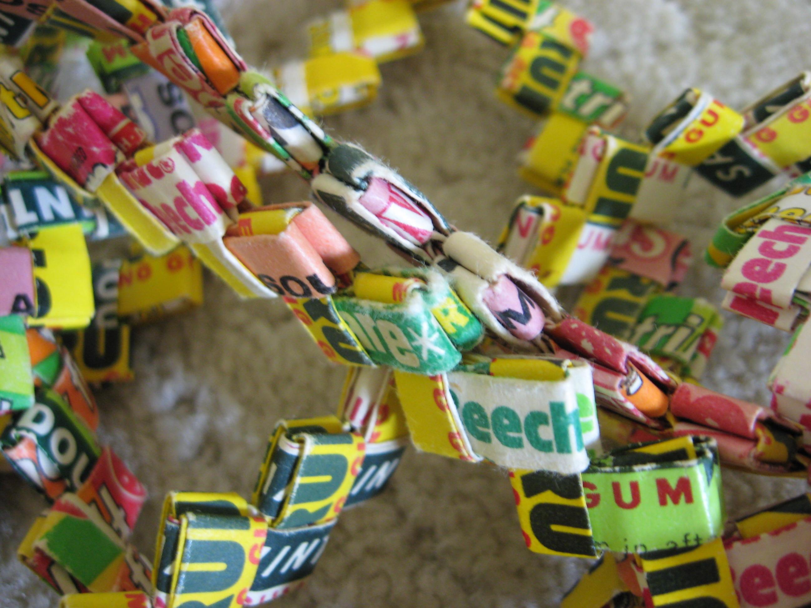 Childhood Memories Friday Gum Wrapper Chain Girls In