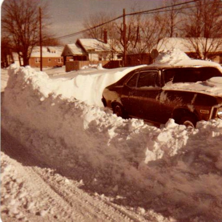 southern Indiana Blizzard of '78