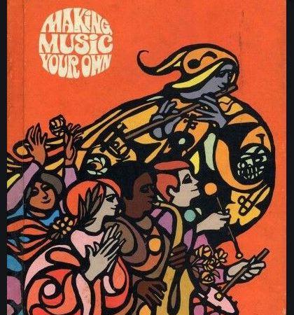1970s school music book