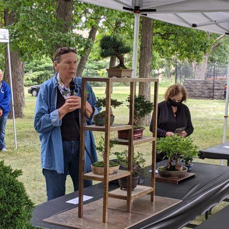 Wellfield Gardens Elkhart Indiana bonsai Pauline Muth