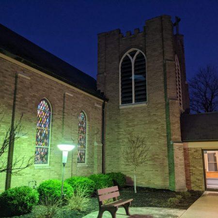 church sunrise service Easter